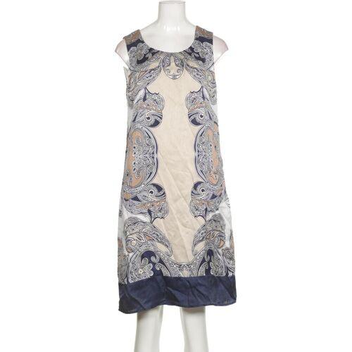 Manguun Damen Kleid blau Seide DE 36