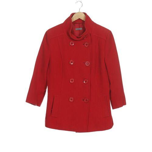 Montego Damen Mantel rot Synthetik Wolle DE 40