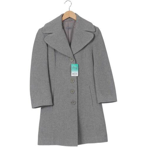 Montego Damen Mantel grau Synthetik Wolle DE 34