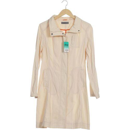 Montego Damen Mantel beige Baumwolle DE 40