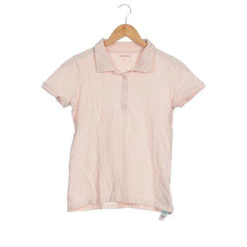 Montego Damen Poloshirt pink Elasthan Baumwolle INT S