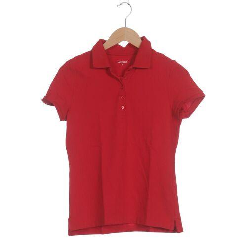Montego Damen Poloshirt rot Elasthan Baumwolle INT S