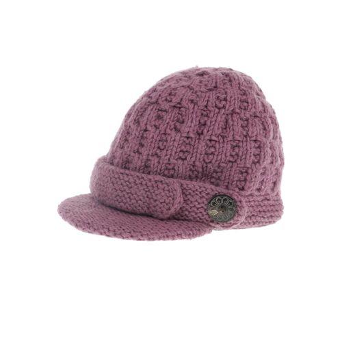 Moshiki Damen Hut/Mütze lila Synthetik Wolle INT ONESIZE