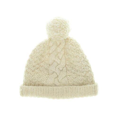 Moshiki Damen Hut/Mütze beige Synthetik Wolle INT ONESIZE