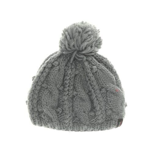 Moshiki Damen Hut/Mütze grau Synthetik Wolle DE 52