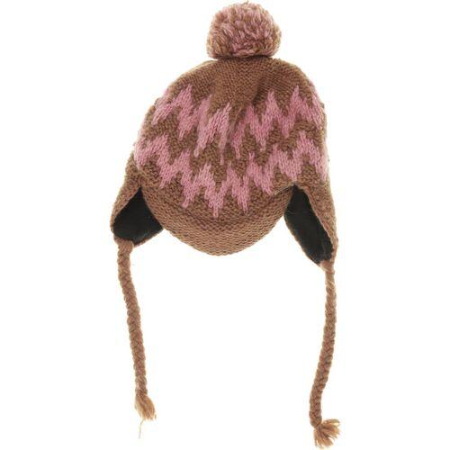 Moshiki Damen Hut/Mütze braun Synthetik Wolle INT ONESIZE