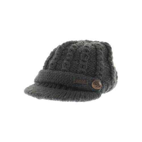 Moshiki Damen Hut/Mütze grau Synthetik Wolle INT ONESIZE