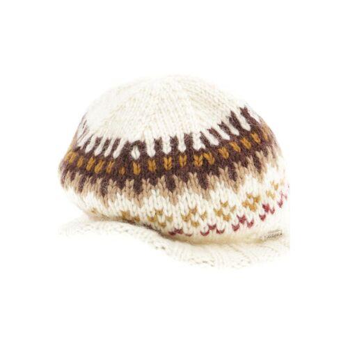 Moshiki Damen Hut/Mütze weiß Synthetik Wolle INT ONESIZE