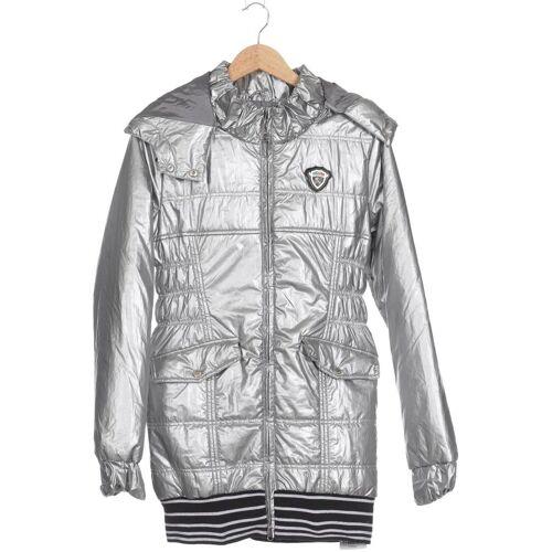 NICKELSON Damen Mantel silber Synthetik INT M