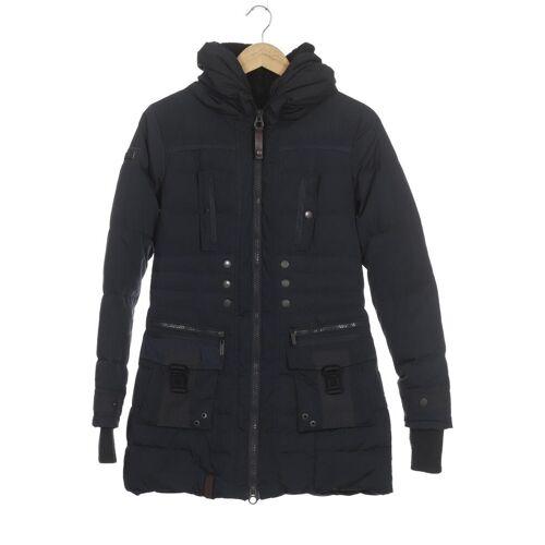 Naketano Damen Mantel blau Synthetik INT XS