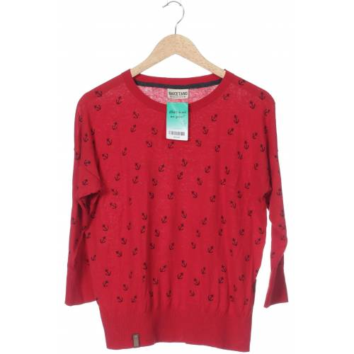 Naketano Damen Pullover rot kein Etikett INT M