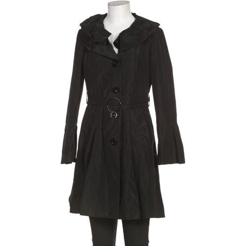 Nicowa Damen Mantel schwarz Synthetik DE 36