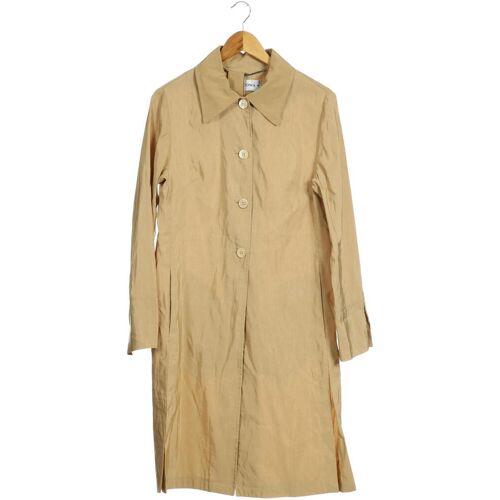Nicowa Damen Mantel beige Baumwolle Leinen DE 38