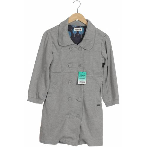 Nümph Damen Mantel grau Baumwolle INT M
