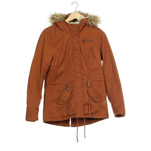 ONLY Damen Jacke orange Baumwolle Synthetik