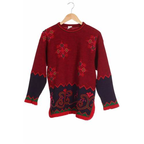 Oilily Damen Pullover rot kein Etikett INT S