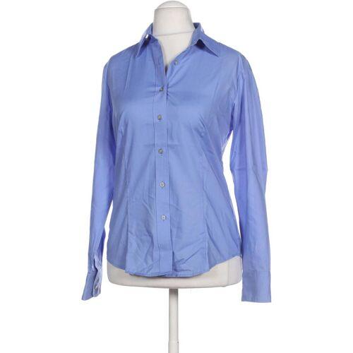 Olymp Damen Bluse blau Baumwolle DE 38