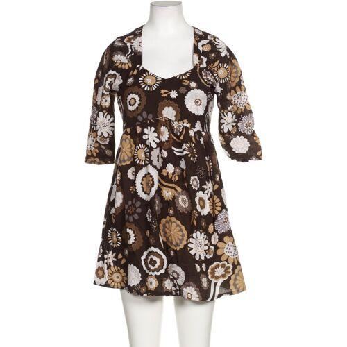 PAPERMOON Damen Kleid braun Baumwolle INT M