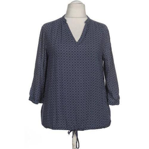PECKOTT Damen Bluse blau kein Etikett INT XL