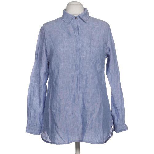 PECKOTT Damen Bluse blau Leinen DE 40