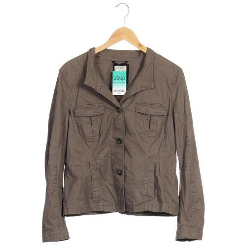 PECKOTT Damen Jacke grau Baumwolle DE 44