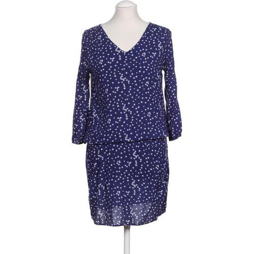 PECKOTT Damen Kleid blau Viskose INT S