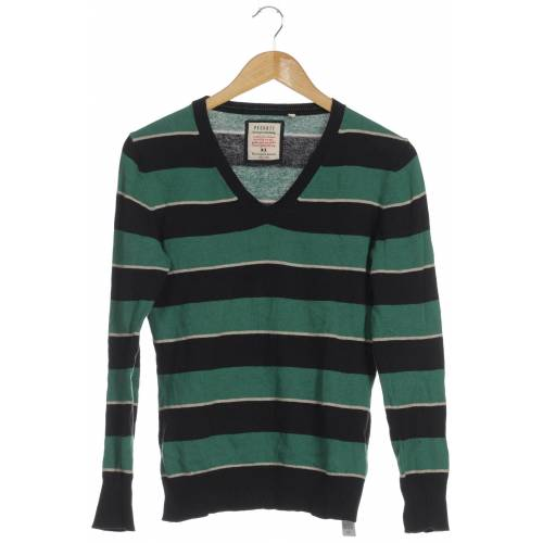 PECKOTT Damen Pullover grün Baumwolle DE 36