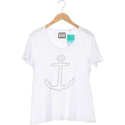 PECKOTT Damen T-Shirt weiß kein Etikett DE 42