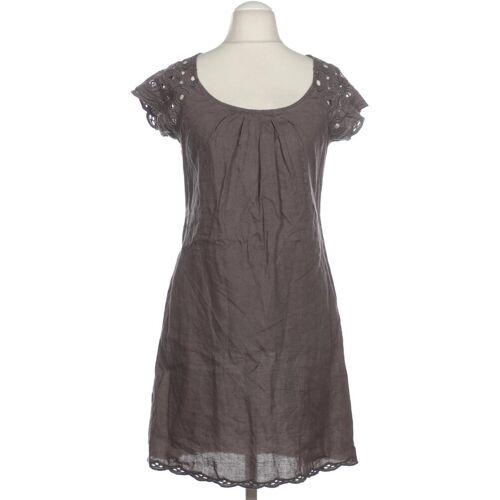 Promod Damen Kleid grau Leinen DE 36