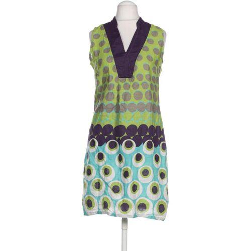 Promod Damen Kleid grün Leinen DE 38