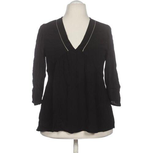 Promod Damen Bluse schwarz Viskose DE 42