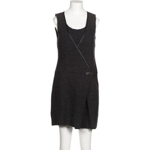 Promod Damen Kleid grau Wolle DE 36