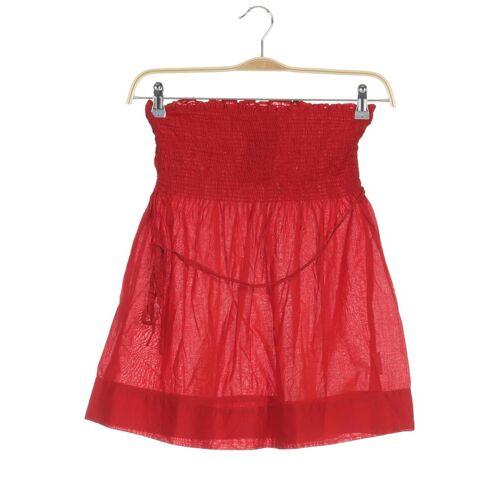 Promod Damen Rock rot kein Etikett INT XXS