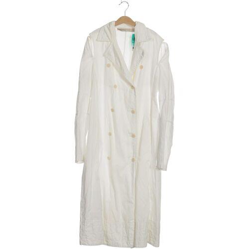 RUNDHOLZ Damen Mantel weiß kein Etikett INT M