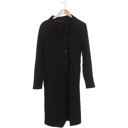 RUNDHOLZ Damen Mantel schwarz Baumwolle Wolle INT M
