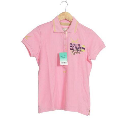 SANSIBAR Damen Poloshirt pink Baumwolle INT S