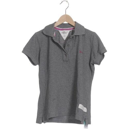 SANSIBAR Damen Poloshirt grau Baumwolle INT XS