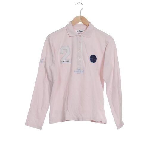 SANSIBAR Damen Poloshirt pink Baumwolle INT L