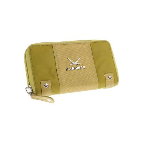 SANSIBAR Damen Portemonnaie gelb kein Etikett