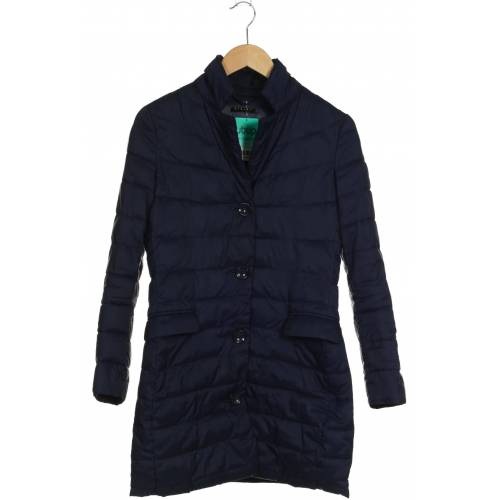 SISLEY Damen Mantel blau kein Etikett INT S