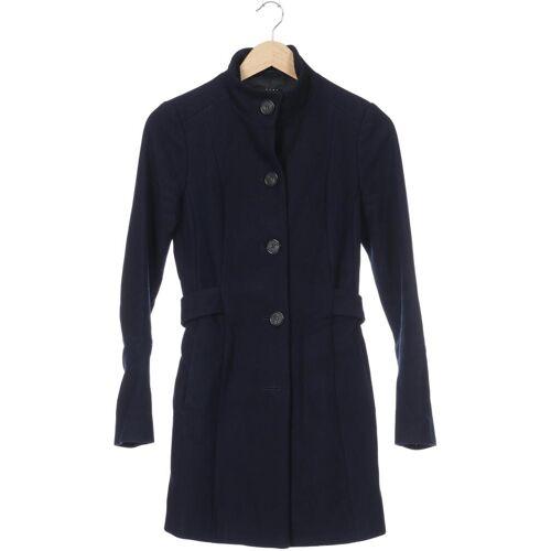 SISLEY Damen Mantel blau kein Etikett INT XS