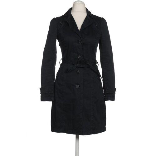 SISLEY Damen Mantel blau kein Etikett DE 38