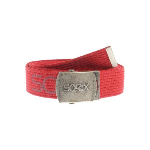 SOCCX Damen Gürtel rot kein Etikett 110