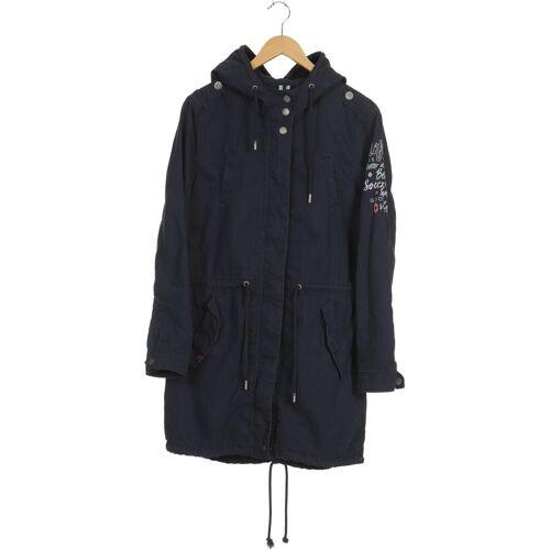 SOCCX Damen Mantel blau kein Etikett INT L
