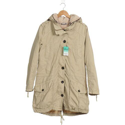 SOCCX Damen Mantel beige kein Etikett INT XL