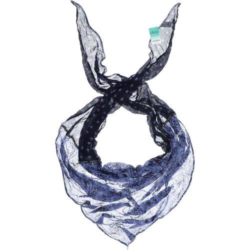 SOCCX Damen Schal blau Viskose