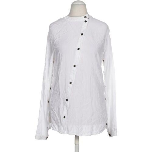 tigha Damen Bluse weiß Viskose INT M
