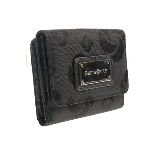 Samsonite Damen Portemonnaie schwarz kein Etikett