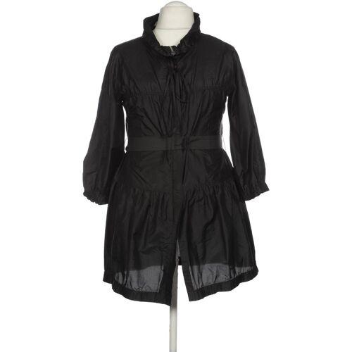 Schumacher Damen Mantel schwarz Seide INT L