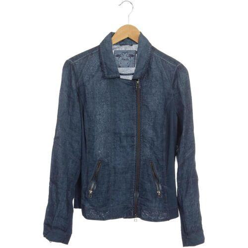 Simclan Damen Jacke blau kein Etikett DE 42